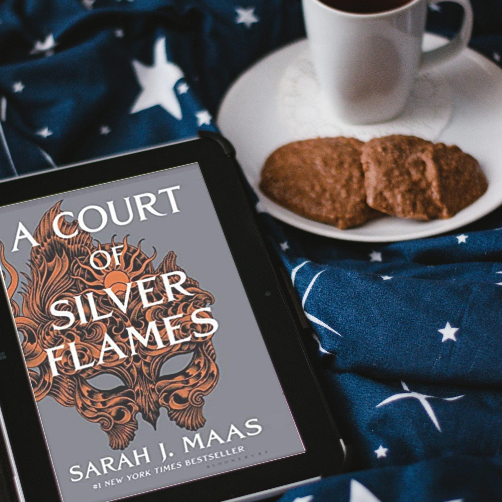Soho Hana - Club lecture 1 - Livre A Court of Silver and Flames